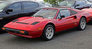 Ferrari 308 GTB/GTS - Federalized 1985 Ferrari 308 GTS Quattrovalvole