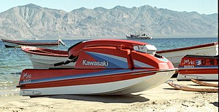 Jet Ski brand of personal watercraft