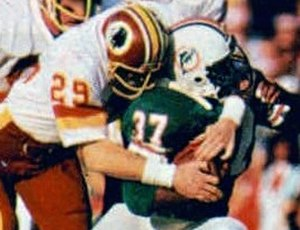 Mark Murphy (safety, born 1955) - Murphy (left) playing for the Redskins in Super Bowl XVII