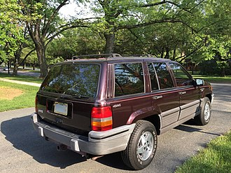 Jeep Grand Cherokee - 1993 Jeep Grand Cherokee Laredo (USA)