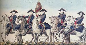 Antonio de Benavides - Cavalry of the 1st Company of the Spanish Royal Guard Corps