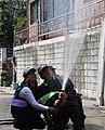2000년대 초반 서울소방 소방공무원(소방관) 활동 사진 (8.24)비상소화장치훈련 실전처럼.jpg
