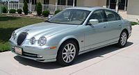 The Jaguar S-Type, a mid-luxury segment sedan.