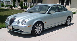 Jaguar S-Type based on the Ford DEW98 platform
