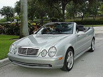 Mercedes-Benz CLK-Class - CLK 55 AMG (US)