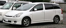 トヨタ自動車が小型ミニバン「ウィッシュ」発売