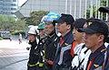 2005년 5월 9일 서울특별시 강남구 코엑스 재난대비 긴급구조 종합훈련 리허설 DSC 0187.JPG