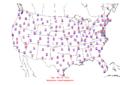 2005-09-01 Max-min Temperature Map NOAA.png