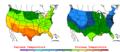 2006-05-01 Color Max-min Temperature Map NOAA.png