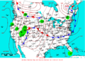 2007-06-06 Surface Weather Map NOAA.png