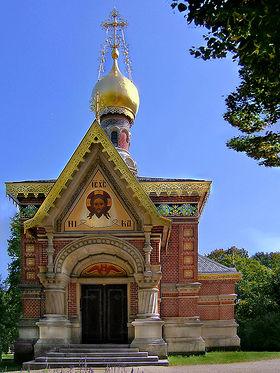 Image illustrative de l'article Chapelle russe de Bad Homburg