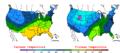 2008-01-07 Color Max-min Temperature Map NOAA.png