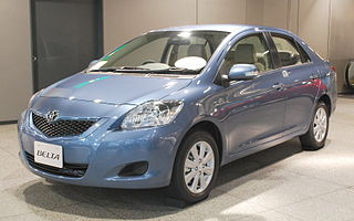 car sold as the Toyota Yaris in North America, and the second-generation Toyota Vios in South Asia