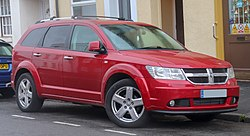 2010 Dodge Journey RT CRD 2.0 Front.jpg