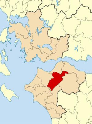 Erymanthos (municipality) - Image: 2011 Dimos Erymanthou