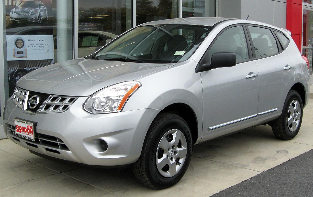 File:2011 Nissan Rogue S -- 04-22-2011.jpg - Wikimedia Commons