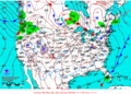 2013-01-07 Surface Weather Map NOAA.png