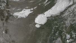 The storm system on May 31