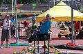 2013 IPC Athletics World Championships - 26072013 - Jamil Elshebli of Jordan during the Men's Shot put - F56-57 6.jpg