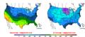 2014-01-17 Color Max-min Temperature Map NOAA.png