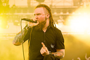 Decapitated (band) - Piotrowski in 2014