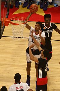 20150401 MCDAAG Brandon Ingram at the rim.JPG