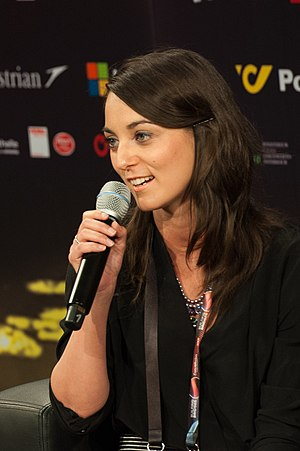 Hungary in the Eurovision Song Contest 2015 - Boggie during a press meet and greet