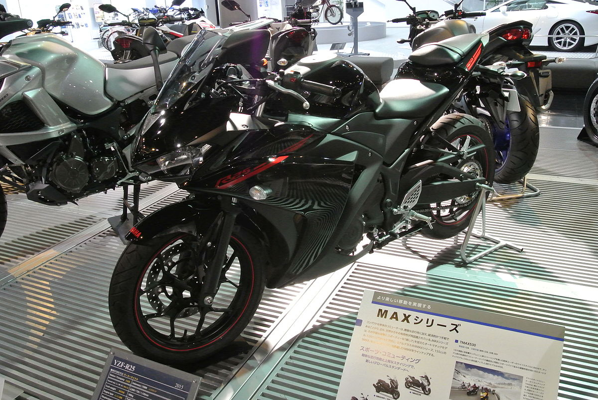 Yamaha yzf r25 wikipedia for Yamaha yzf r25