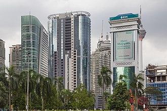 Kuala Lumpur - Kuala Lumpur City Centre (KLCC).