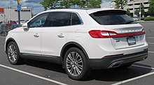 Lincoln Mkx Rear View