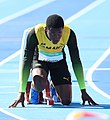 2018-10-16 Stage 2 (Boys' 400 metre hurdles) at 2018 Summer Youth Olympics by Sandro Halank–054.jpg