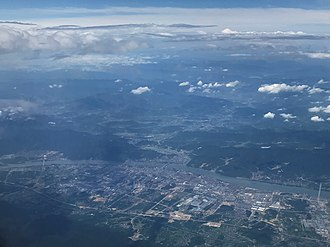 Tonglu County - Aerial view of Tonglu County