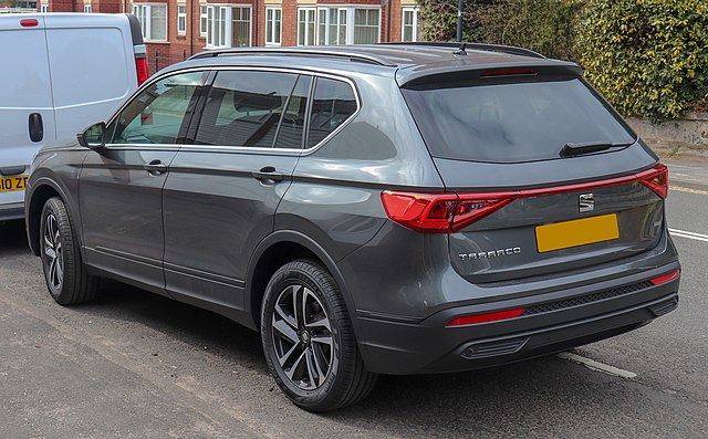 2019 SEAT Tarraco SE Tech TDi 4Drive SA 2.0 Rear (1)