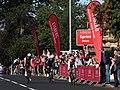 2019 ToB stage 1 Kilmarnock sprint - 082 Dries de Bont, 125 Rory Townsend, 075 Gediminius Bagdonas.JPG