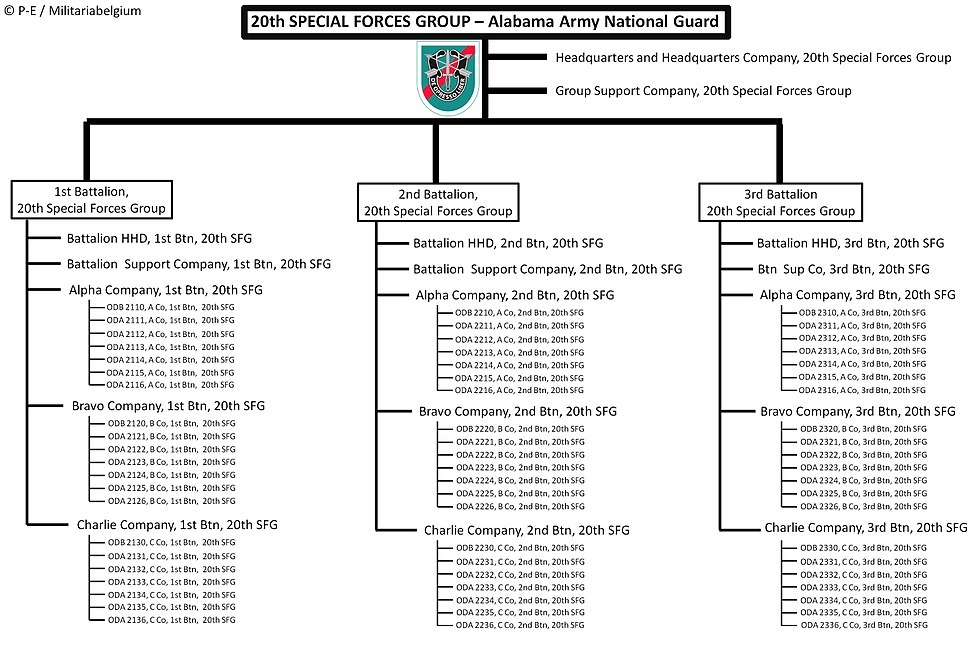 20th Special Operations Group - New nomenclature