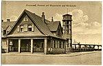 21875-Lautawerk-1921-Postamt mit Wasserturm-Brück & Sohn Kunstverlag.jpg