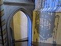 218 Santuari de la Misericòrdia (Canet de Mar), escala d'accés al cambril de la marededéu.JPG