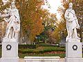 2 Gothic kings at Plaza de Oriente myspanishexperience com.jpg