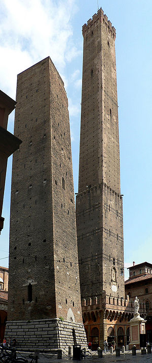 Bologna - The iconic ''Due Torri''.