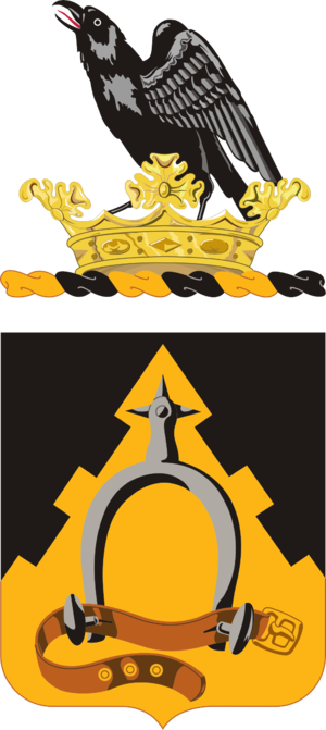 303rd Cavalry Regiment (United States) - Coat of Arms of the 303rd Cavalry
