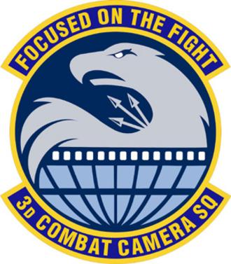 Air Force Public Affairs Agency - Image: 3d Combat Camera Squadron