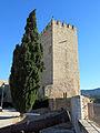 486 Castell de la Suda (Tortosa), canó i torre mestra.JPG