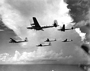 73d Air Division - 497th Bomb Group B-29 Formation