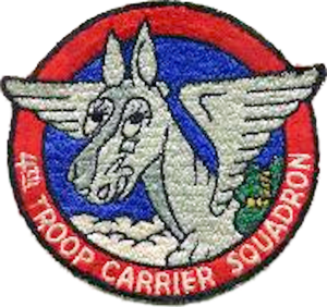 4th Airlift Squadron - Image: 4th Troop Carrier Squadron Emblem