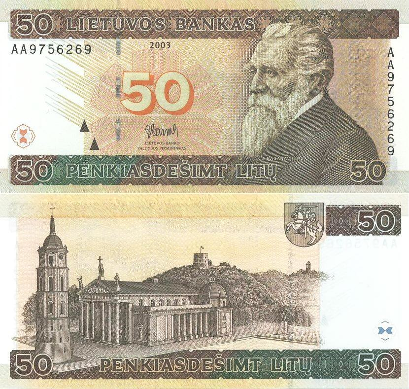 50 litai (2003)