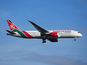 Kenya Airways - Kenya Airways Boeing 787-8 Dreamliner