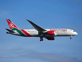 Kenya Airways - Kenya Airways Boeing 787-8 Dreamliner