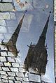 6716 Odbicie w kałuży wież katedry Foto Barbara Maliszewska.jpg