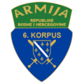 6th Corps of the Army of the Republic of Bosnia and Herzegovina.png