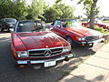 75 Mercedes 450 SL & 85 Mercedes 380 SL (7324692448).jpg